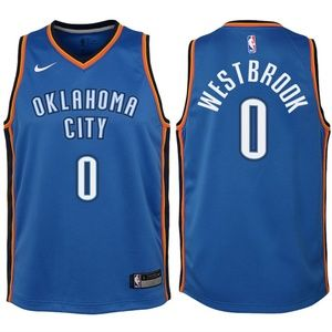 Youth Thunder 0 Russell Westbrook Jersey